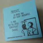 "Minicomic ""Momente, in denen..."""
